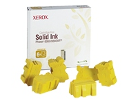 Xerox - 6 - yellow - solid inks - for Phaser 8860, 8860DN, 8860MFP, 8860MFP/D, 8860MFP/E, 8860MFP/SD, 8860PP, 8860WDN