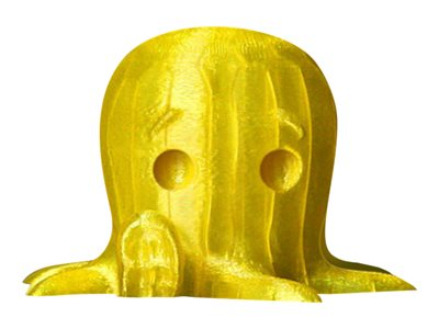 - 1 - Translucent Yellow - PLA-Filament