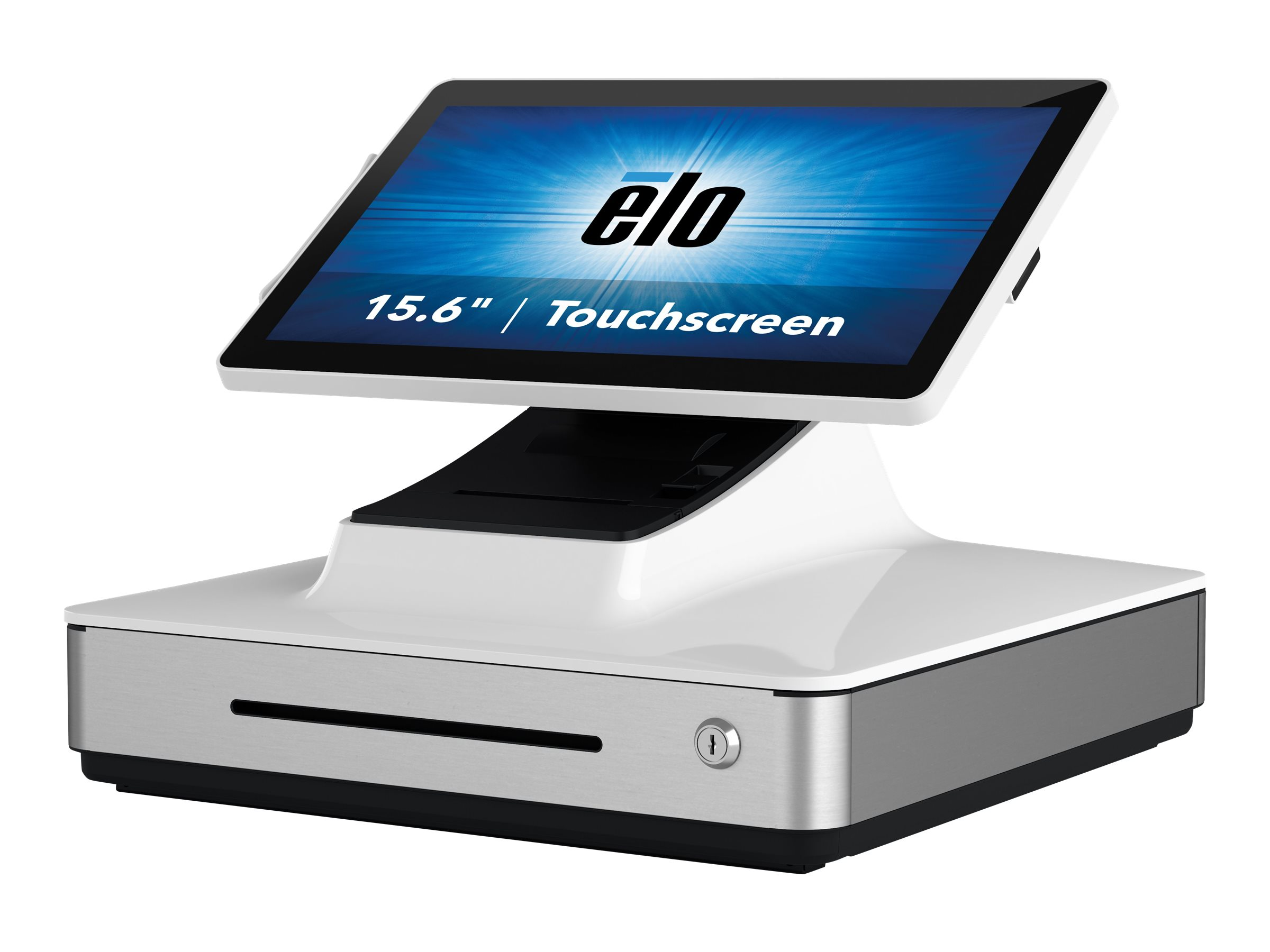 Elo PayPoint Plus - All-in-One (Komplettlösung) - 1 x Core i5 8500T / 2.1 GHz - RAM 8 GB - SSD 128 GB - UHD Graphics 630