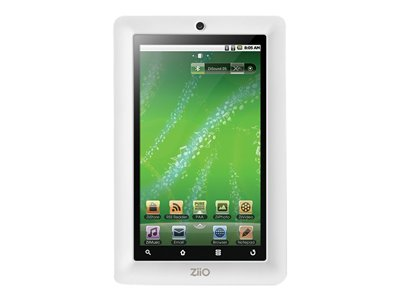 Creative Ziio 7 Tablet Android 2.1 8 GB 7INCH TFT (480 x 800) microSD slot white