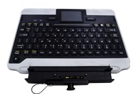 iKey IK-PAN-FZG1-NB-V5 - Keyboard - with touchpad - dock - for Toughpad FZ-G1, FZ-G1 ATEX