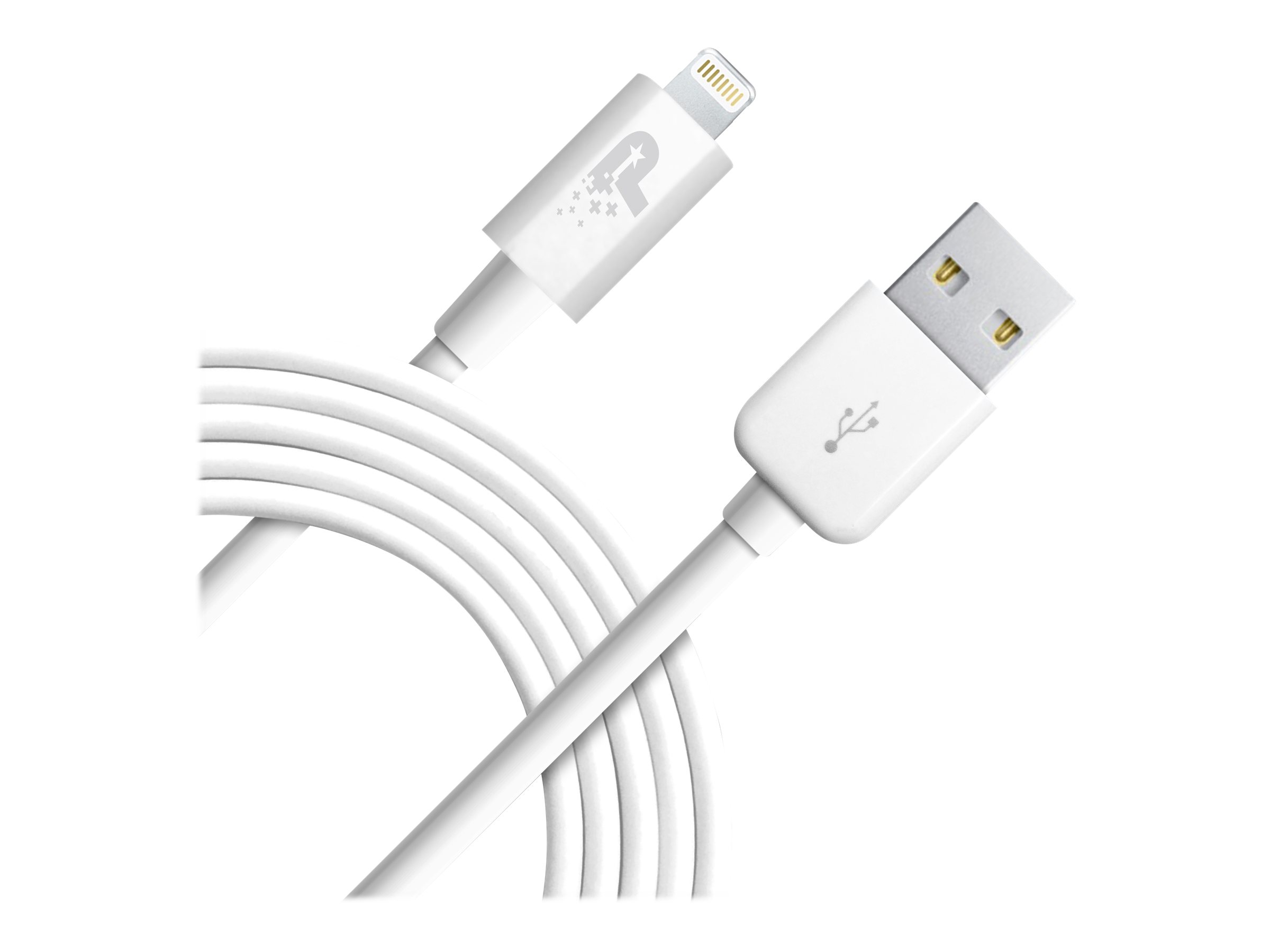 Patriot Sync and Charge Lightning Cable Lightning cable - Lightning / USB - 1.8 m