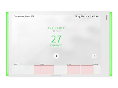 Crestron Room Scheduling Touch Screen TSS-770-W-S-LB KIT Room manager wireless, wired