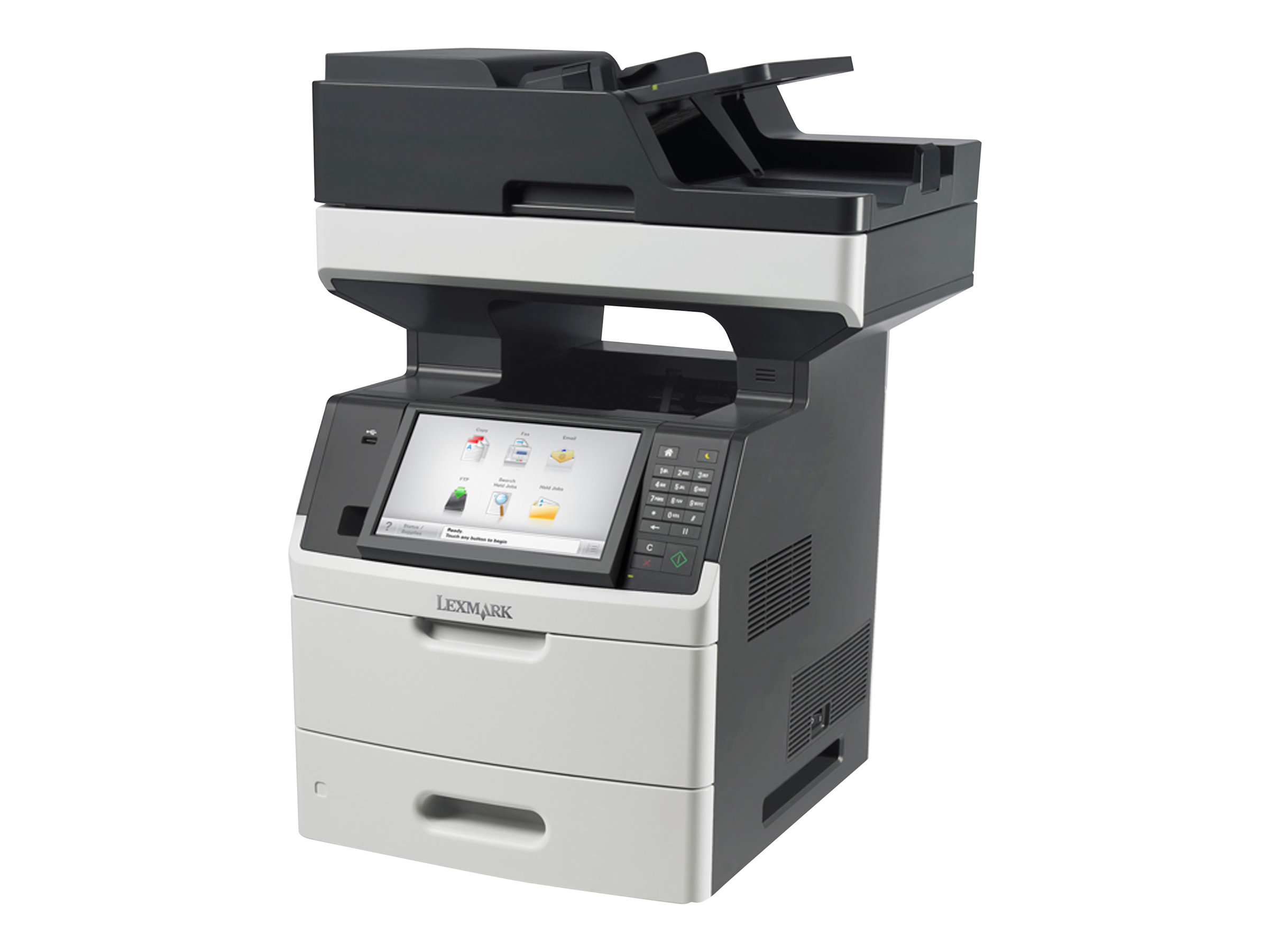 Lexmark MX711de - Multifunktionsdrucker - s/w - Laser - Legal (216 x 356 mm) (Original) - Legal (Medien)