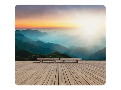 Fellowes Recycled Mouse Pad Mountain Sunrise - mouse pad