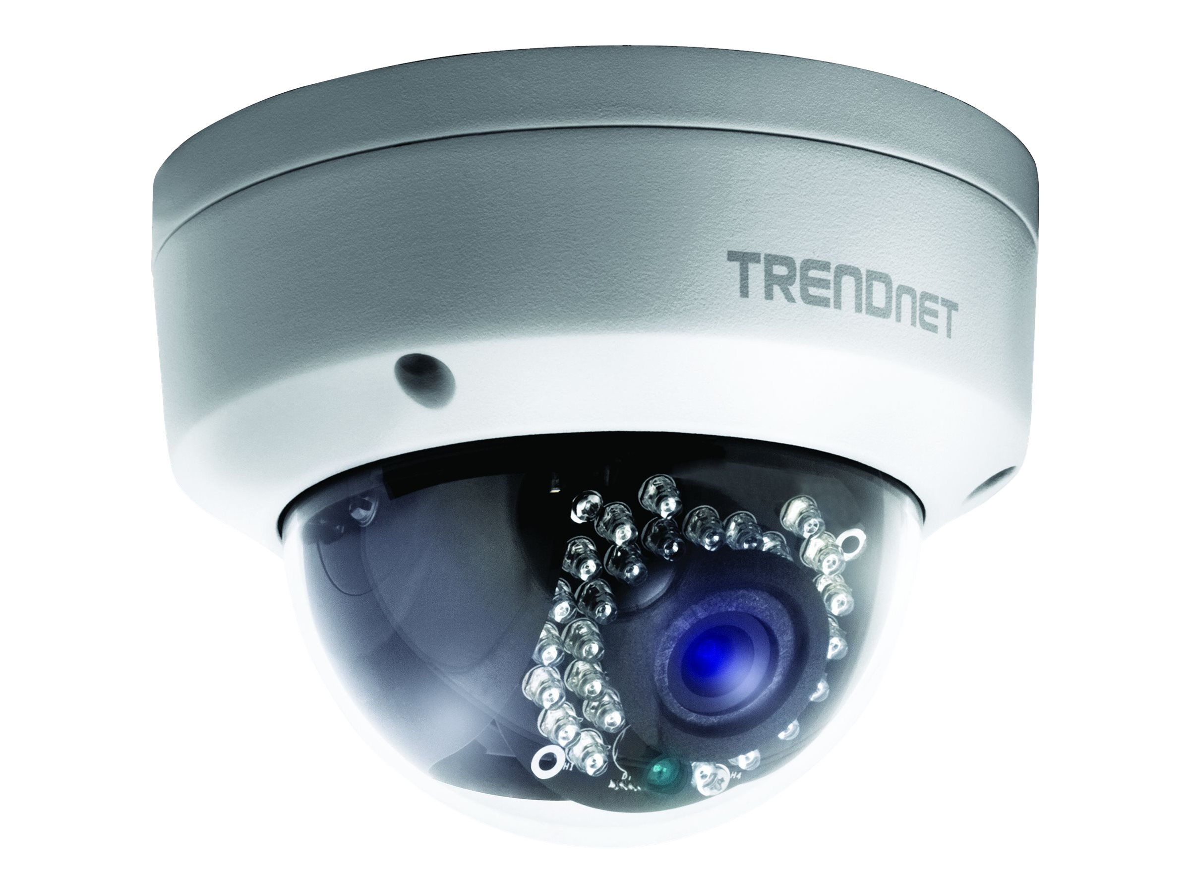 TRENDnet TV IP311PI Outdoor 3 MP PoE Dome Day/Night Network Camera - network surveillance camera