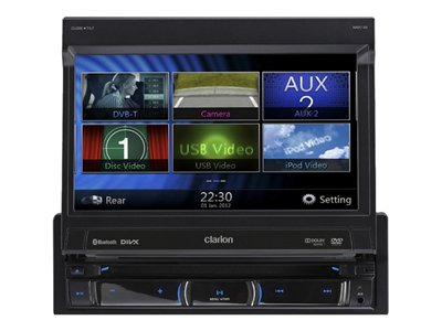 clarion nz502e dvd-multimedia-station mit integrierter navigation