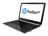 HP Pavilion 15-n065nr Core i3 4005U / 1.7 GHz Win 8 64-bit 4 GB RAM 750 GB HDD