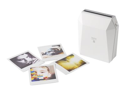 Fujifilm instax SHARE SP-3 - Printer - color - LED - 2.44 in x 2.44 in - capacity: 10 photos - Wi-Fi(n) - white