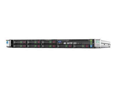 HPE ProLiant DL360 Gen9 Server rack-mountable 1U 2-way 1 x Xeon E5-2620V4 / 2.1 GHz