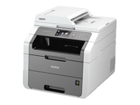 Brother DCP-9020CDW - Multifunction printer - colour - LED - Legal (216 x 356 mm) (original) - A4/Legal (media) - up to 18 ppm (copying) - up to 18 ppm (printing) - 250 sheets - USB 2.0, LAN, Wi-Fi(n)