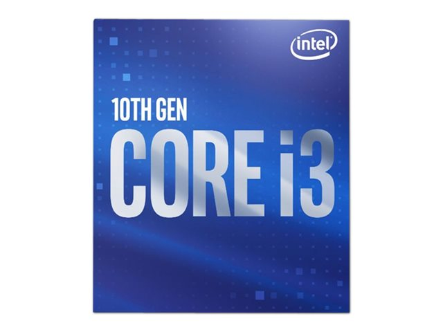 Intel Core i3 10100 - 3.6 GHz - 4 cores - 8 threads