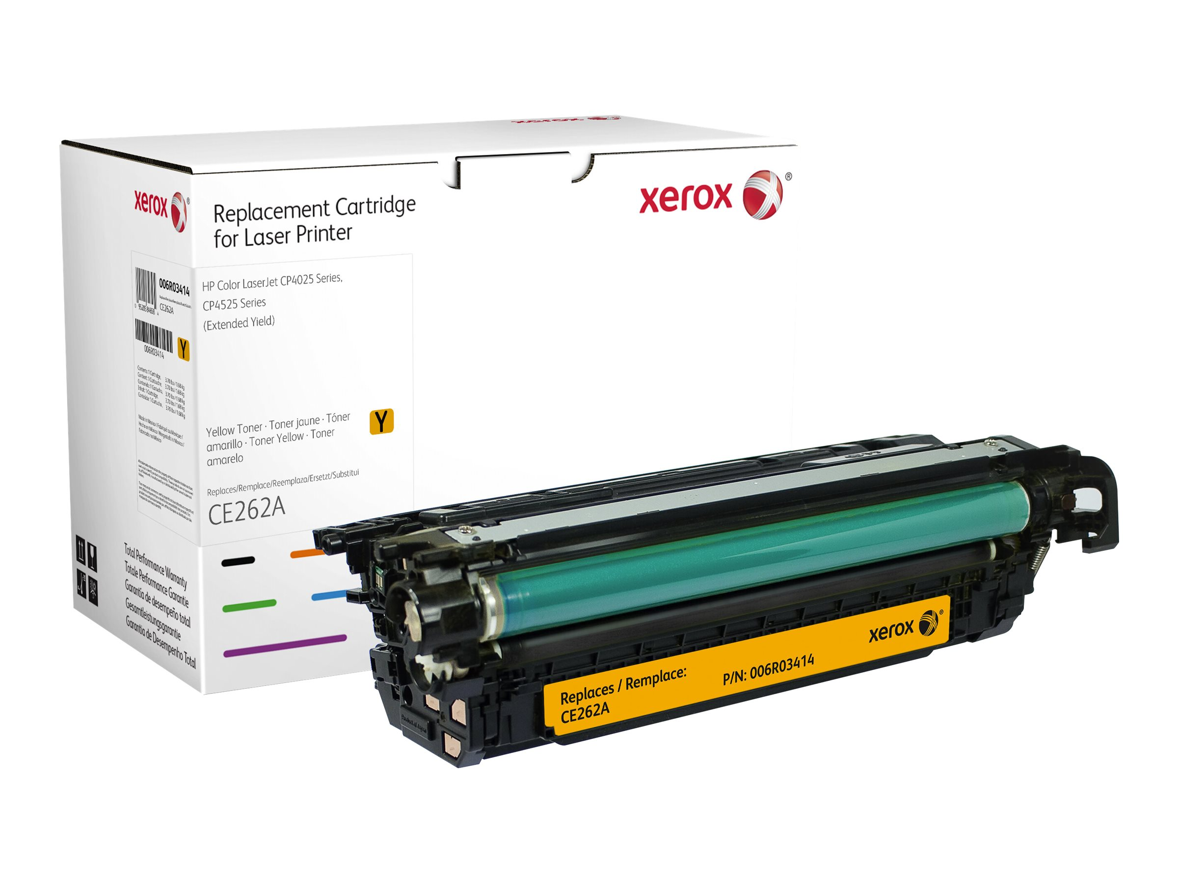 Xerox - Extended Yield - yellow - toner cartridge (alternative for: HP CE262A)