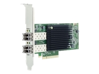Dell Emulex LPe35002 - Customer Install - host bus adapter - PCIe 4.0 x8 low profile - 32Gb Fibre Channel (Short Wave) x 2 - for PowerEdge FC640, R640, R6415, R740, R740xd, R740xd2, R7415, R7425, R840, R940XA
