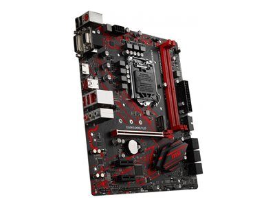 MSI B360M GAMING PLUS Micro-ATX LGA1151  Intel B360 Express