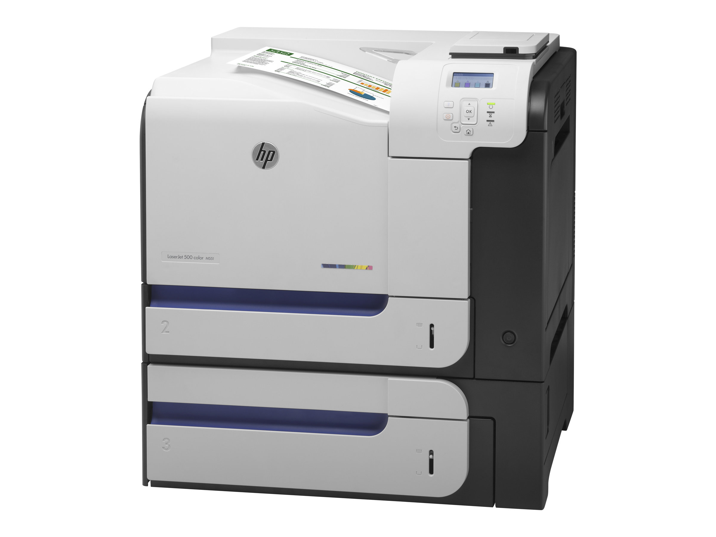 Cartouches laser compatibles avec l'imprimante HP LASERJET ENTERPRISE 500 COLOR M551 XH