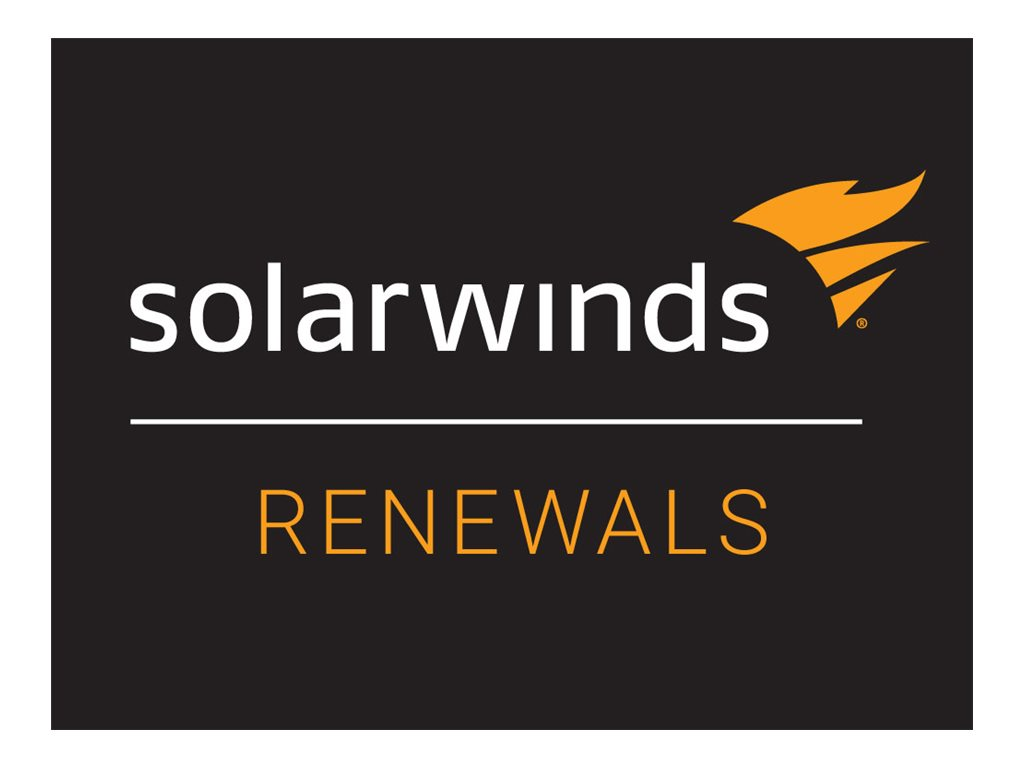 SolarWinds Maintenance - technical support (renewal) - for SolarWinds Patch Manager - 1 year