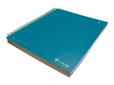 Livescribe #1 3 subject notebook wire-bound 8.5 in x 11 in 150 sheets / 300 pages