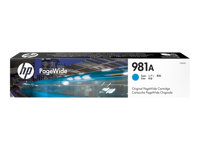 HP 981A - 69 ml - magenta - originale - PageWide - cartouche d'encre - pour PageWide Enterprise Color MFP 586; PageWide Managed Color E55650