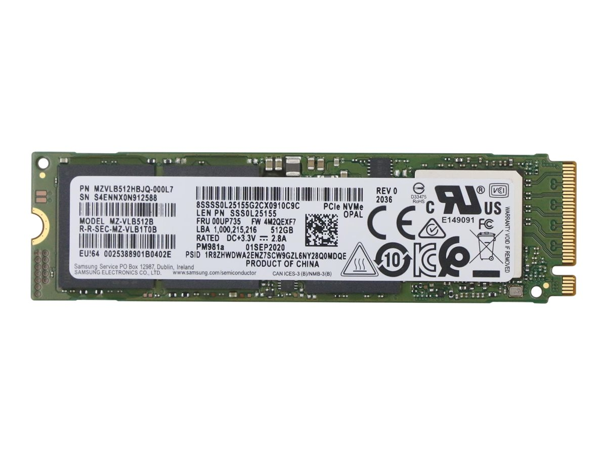 Lenovo - solid state drive - 512 GB