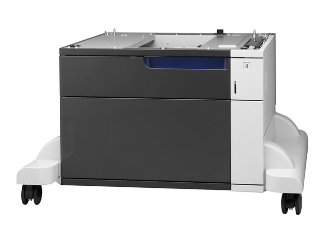 Image of HP Paper Feeder and Stand - printer base with media feeder - 500 pages
