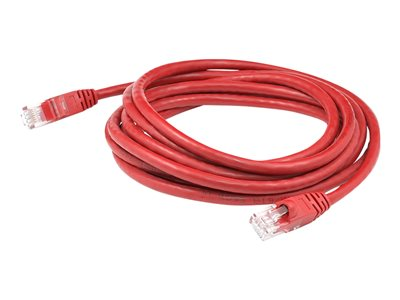 AddOn - Patch cable - RJ-45 (M) to RJ-45 (M) - 6.1 m - UTP - CAT 6 - red