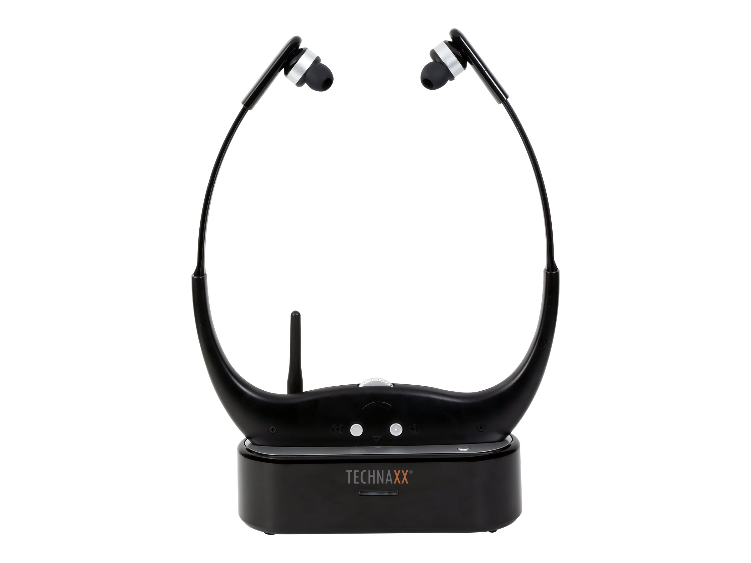 Technaxx Wireless TV Chin Guard Headphone TX-99 - Ohrhörer - im Ohr - Radio - kabellos