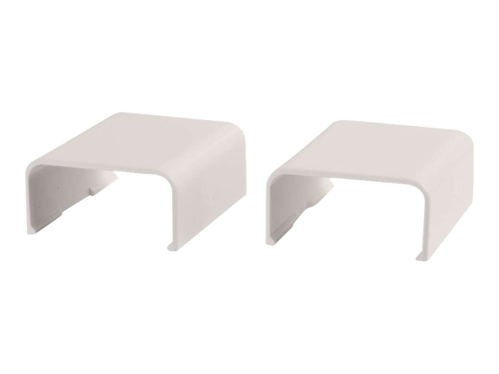 C2G 2 Pack Wiremold Uniduct 2900 Cover Clip - Fog White - cable raceway cover clip