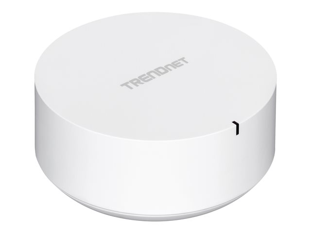 TRENDnet TEW-830MDR2K - Wi-Fi system (2 routers) - up to 4,000 sq.ft - mesh - GigE - 802.11a/b/g/n/ac - Dual Band - wall-mountable