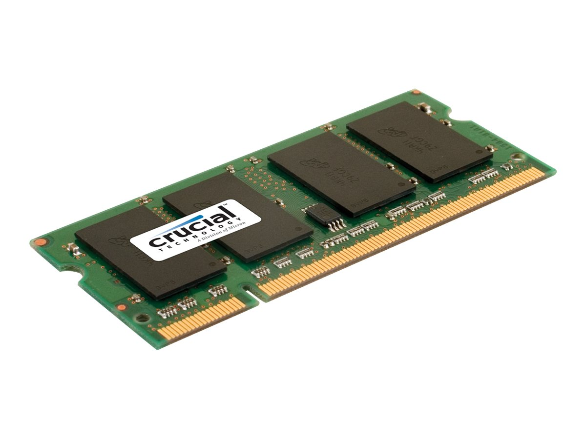 Crucial - DDR2 - 4 GB - SO DIMM 200-PIN - 800 MHz / PC2-6400 - CL6