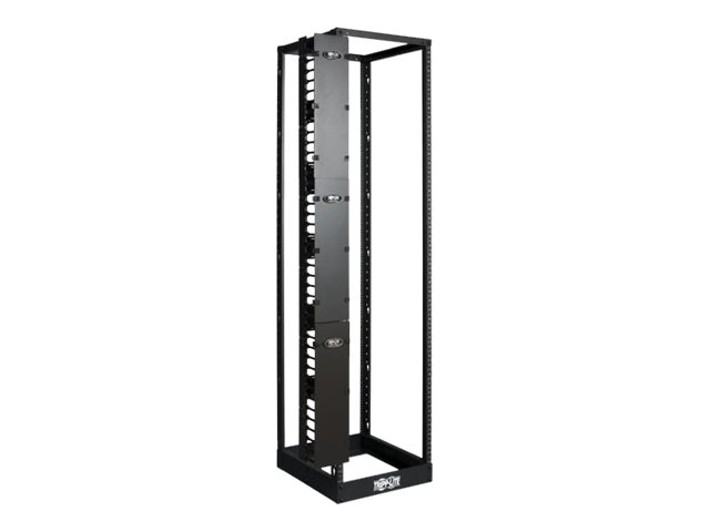 Tripp Lite Open Frame Rack 6ft Vertical Cable Manager 6in Wide rack cable management duct with cover