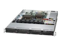 Supermicro SuperServer 6018R-TDTP Server rack-mountable 1U 2-way RAM 0 MB SATA