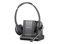 Plantronics Savi W720-M - 700 Series - headset - full size - wireless - DECT 6.0