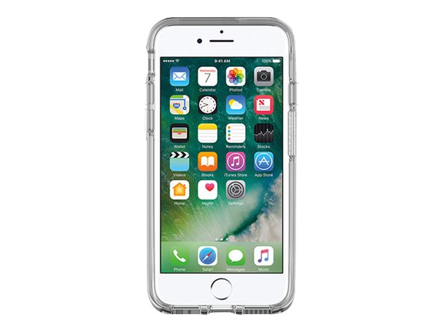 OtterBox Symmetry Series Apple iPhone 7 - Coque de protection pour téléphone portable - polycarbonate, caoutchouc synthétique - transparent - pour Apple iPhone 7