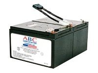 ABC RBC6 UPS battery 2 x lead acid 12 Ah