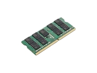 Lenovo - DDR4 - 16 GB - SO-DIMM 260-pin - 2666 MHz / PC4-21300 - 1.2 V - unbuffered - non-ECC - CRU - green - for ThinkBook 13; 14; 15; ThinkCentre M715q (2nd Gen); M75; ThinkPad E14; E15; P73