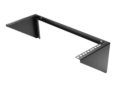 StarTech.com 4U Wall Mount Patch Panel Bracket - 19 inch Steel Vertical Mounting Bracket for Network and Data Equipment (RK419WALLV)