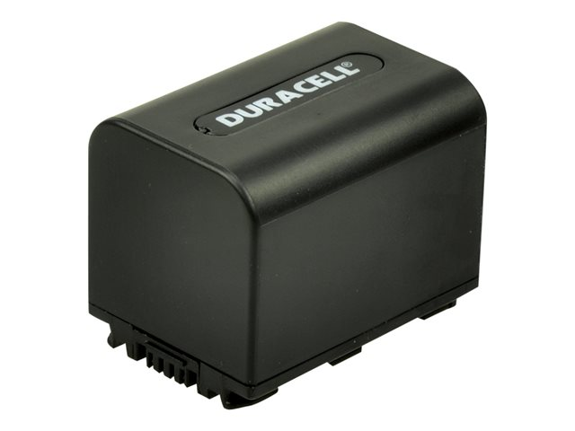Duracell DR9700B - Camcorder battery Li-Ion 1640 mAh - for Sony Handycam DCR-SR47, SR67, SR77, SR82, SR85, SR87, SX30, SX40, SX41, SX50, SX60, TRV280