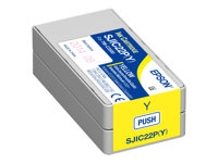 Epson SJIC22P(Y) Yellow original ink cartridge for ColorW
