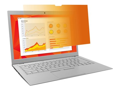 3M Gold Privacy Filter for Full Screen 14INCH Widescreen Laptop with COMPLY Attachment System