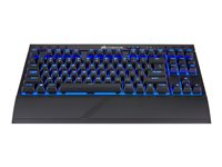 CORSAIR Gaming K63 Wireless Keyboard backlit wireless USB, 2.4 GHz, Bluetooth 4.2 US