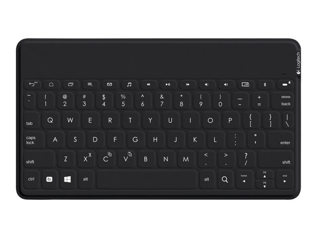 Logitech Keys-To-Go - Keyboard - Bluetooth - waterproof