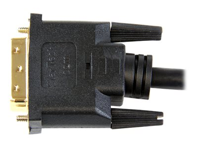 StarTech.com 3 ft HDMI to DVI-D Cable - HDMI to DVI Adapter / Converter Cable - 1x DVI-D Male, 1x HDMI Male - Black, 3 feet (HDDVIMM3)