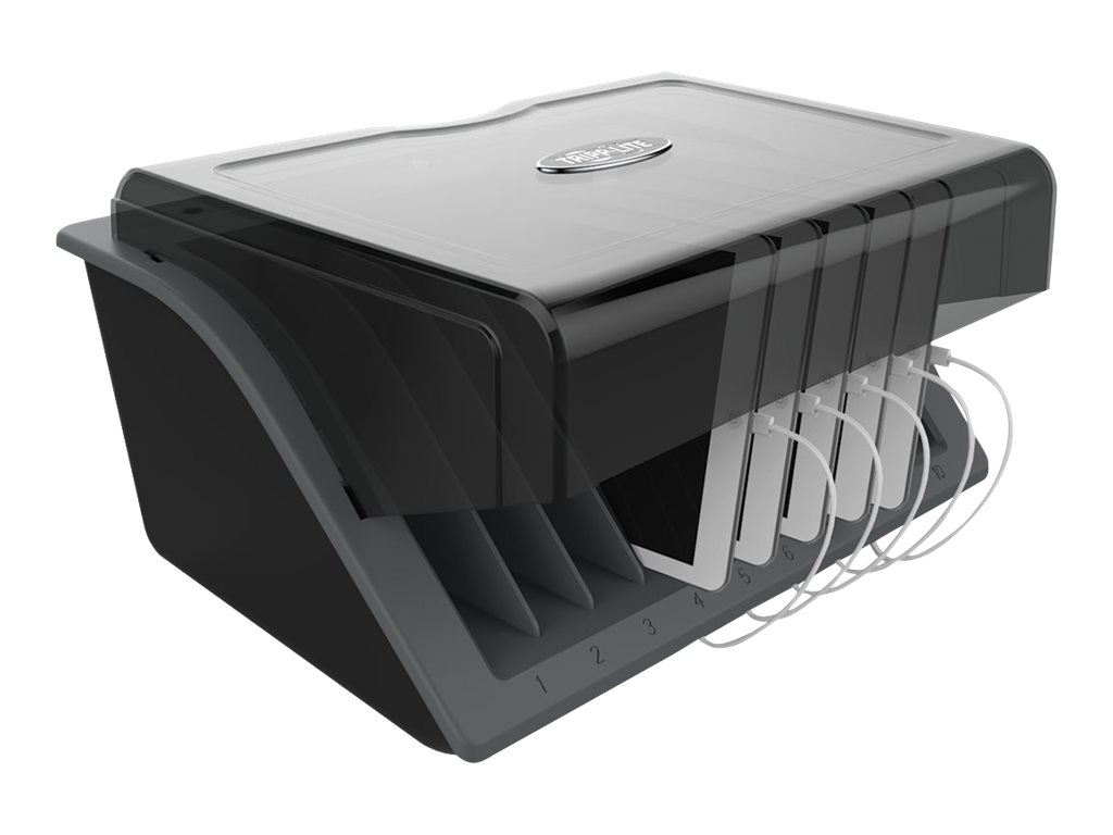 Tripp Lite 10-Device Desktop USB Charging Station for Tablets, iPads, Androids & E-Readers charging station - USB