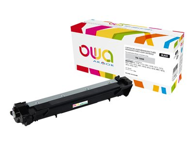 compatibles Brother Brother TN1050 remanufacturé OWA - noire - toner