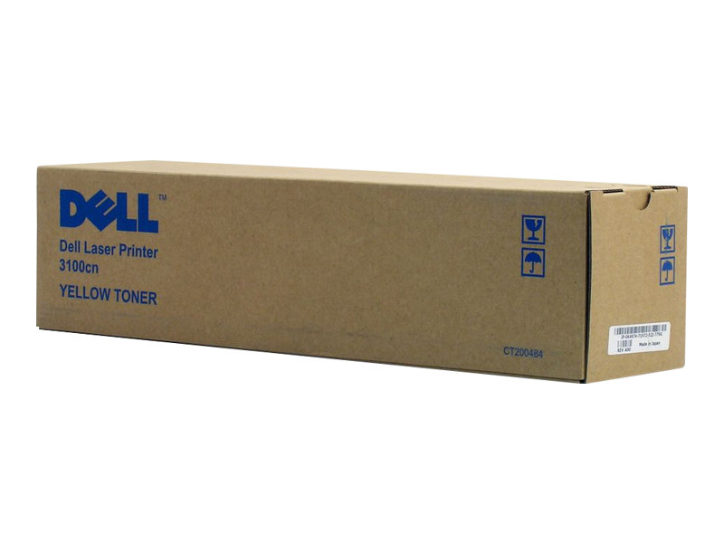 Dell Standard Toner Cartridge - Gelb - Original - Tonerpatrone - für Color Laser Printer 3100cn