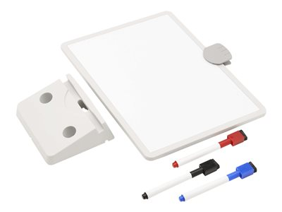 Tripp Lite Magnetic Dry-Erase Whiteboard with Stand & 3 Markers White Frame - dry erase surface - 8.5 in x 11.5 in - white