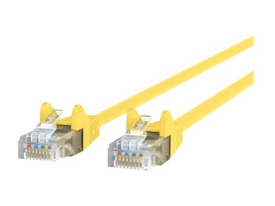 Belkin patch cable - 30.5 cm - yellow