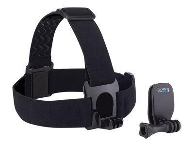 GoPro Head Strap + QuickClip - Støttesystem - for HD HERO; HD HERO2; HERO+ LCD; HERO3; HERO3+; HERO4 Session