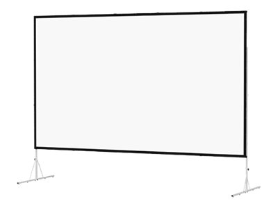 Da-Lite Fast-Fold Deluxe - Projection screen with legs - 119
